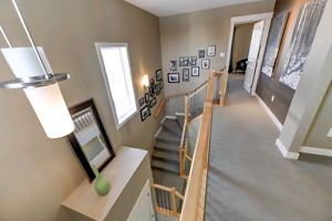 Beautiful, fully finished former showhome on huge pie shaped lot