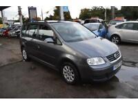 Volkswagen Touran 1.9TDI ( 89BHP ) ( 7st ) 2006MY S 7seats SAT NAV