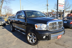 2008 Dodge Ram 1500 Laramie, Accident Free, 2 Years Warranty