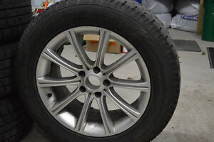 [MINT] Tires (255/55R18 109H) + Rims (18 inch) London Ontario image 2