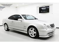 2000 Mercedes-Benz CLK55 AMG Silver Coupe