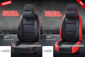 NEW 2019 FULLY COVERED BEST QUALITY LEATHER CAR SEAT COVER