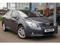 2011 TOYOTA AVENSIS 2.2 D CAT TR [150] Auto NAV, R CAM and ALLOYS