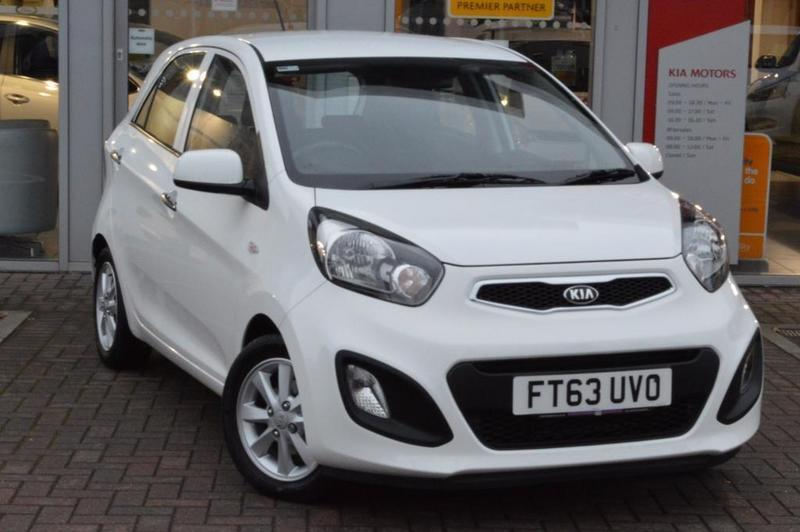 kia picanto vr7 1 0 vr7 5 door white 2014 in worksop nottinghamshire gumtree. Black Bedroom Furniture Sets. Home Design Ideas