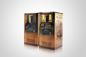 Fontana Wine Kits makes 23 liters 30 750ml bottles Kitchener / Waterloo Kitchener Area image 1