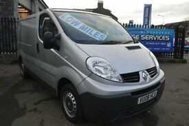 RENAULT TRAFIC 115 DCi SWB *LOWEST MILES LIKE FOR LIKE TRAFIC IN COUNTRY*