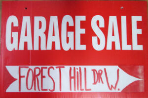 594 Forest Hill Dr W *Saturday Oct 21/17* 9am-2pm *Downsizing*