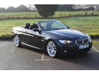 BMW 3 SERIES 330d M Sport Automatic Convertible VERY LOW MILEAGE