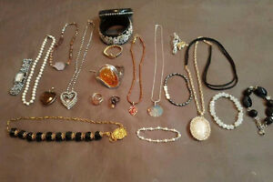 VARIETY OF COSTUME JEWELRY FOR SALE, NO GOLD!
