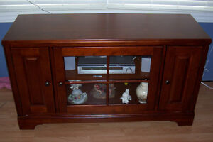 Cherry TV Console / Entertainment Unit London Ontario image 4