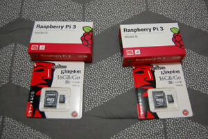 3 Raspberry Pi 3 Model B mother Boards