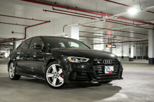 Lease Takeover - 2018 Audi S3 Technik w/ Black Optics Package