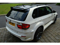 BMW X5 3.0d auto 2007MY SE 7 seater WITH CUSTOM WIDE BODYKIT IN PEARL WHITE