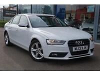 2013 AUDI A4 2.0 TDIe SE GBP 30 TAX, B TOOTH and 17andquot; ALLOYS