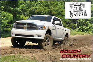 Ens. de suspension 6'' Rough Country Ram 1500 2012-17