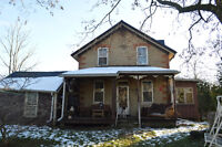 CHARMING FARM HOUSE 15 MINS AWAY FROM GUELPH