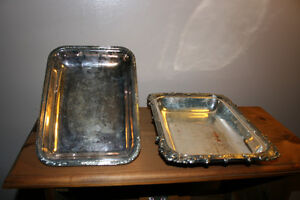 Antique Silver Plated Serving Trays Kingston Kingston Area image 6