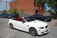 2010 BMW M3 Convertible BMW extended warranty, M-drive,Nav