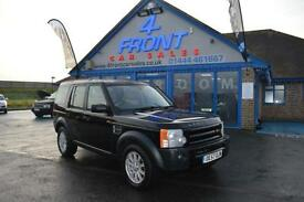 2007 LAND ROVER DISCOVERY 3 TDV6 SE 2.7 DIESEL AUTO LEATHER SAT NAV 7 SEATER 5 D