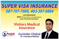 Super Visa, Visitor Medical Insurance