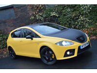 2009 Seat Leon 2.0TDI DPF FR+FULL SERVICE HISTORY+TIMING DONE+CUPRA BUMPERS+2KEY