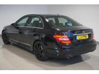 2011 Black Mercedes-Benz C250 2.1CDI Blue F ( COMAND ) 7G-Tronic CDI Sport