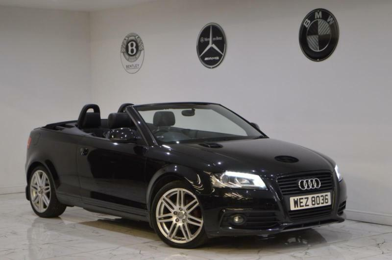 2009 Audi A3 Cabriolet 2 0tdi S Line Black Edition Fsh 2 Keys Heated Leather Px In Sheffield South Yorkshire Gumtree