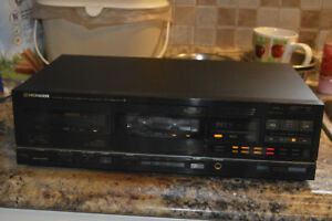 working Pioneer CT-1280WR Dual Cassette deck