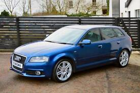 2011 Audi A3 1.6TDI ( 105ps ) Sportback S Line 1 OWNER FASH £20 TAX LOW FINANCE