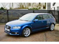 2011 Audi A3 1.6TDI ( 105ps ) Sportback S Line 1 OWNER FASH £20 TAX LOW FINANCE