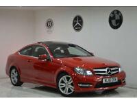 2011 Mercedes-Benz C250 C CLASS AMG SPORT+FDSH+PANORAMIC ROOF+SATNAV+H/K+PX C220