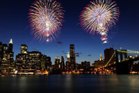 New Year's Eve in New York City bus tour from Saint John