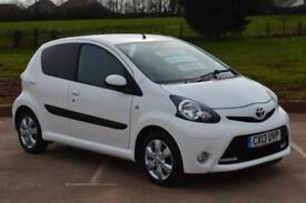 2013 TOYOTA AYGO 1.0 VVT i Fire 5dr [AC] VERY LOW MILEAGE