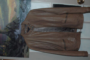 Genuine Leather Jacket from Banana Republic