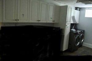 Kitchen cabinets upper straight
