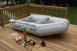6.5' BALTIK INFLATABLE BOAT WITH MOTOR
