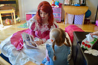 Invite THREE Princesses to your PARTY! Little Princess Parties!