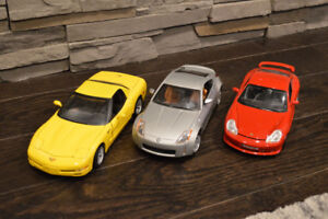 3 Diecast Cars for Sale (1:18 scale)