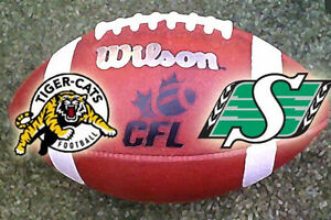 (8) Tickets Hamilton Tiger-Cats vs Roughriders Sat July 8th 8:00