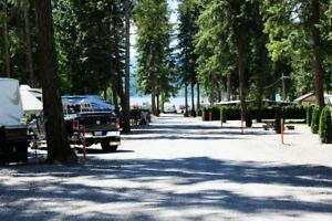 Shuswap Magna Bay Resort Trailer lot