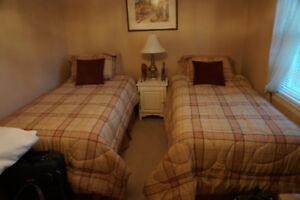 Set de chambre avec 2 lits capitaines (idéal pour enfants)