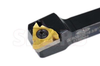 12 Rh Indexable Cutting Tool Universal External Threading Toolholder 38 Insert