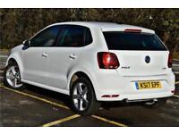 2017 Volkswagen Polo SEL 1.0 TSI 110PS 7-speed DSG 5 Door Petrol white Semi Auto