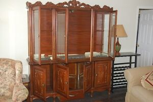 French Provincial Hutch and Sideboard