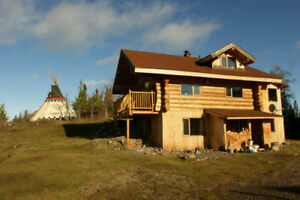 Log home for rent