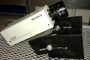 Pro Sony Black and White Video Camera SSC-M254