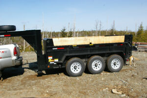Dump Trailer for Hire