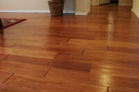 Wood and Laminate flooring installed