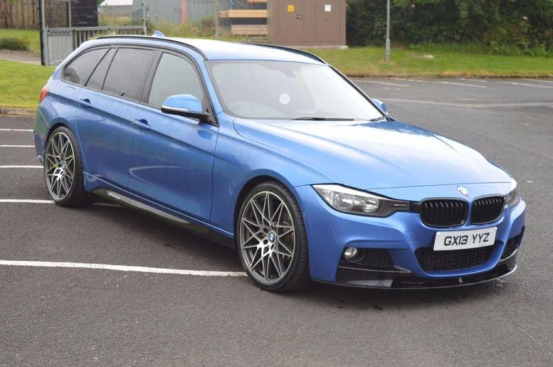 2013 13 BMW 3 SERIES 2.0 320D M SPORT TOURING 5D 181 BHP M-PERFORMANCE DIESEL
