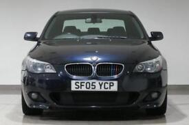2005 BMW 530 3.0TD auto d Sport- CARBON BLACK - PX SWAP - FINANCE FROM £18 p/w